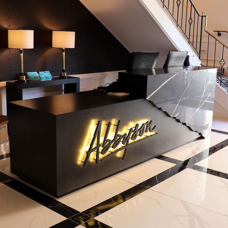 Abbyson Furniture Welcome Desk