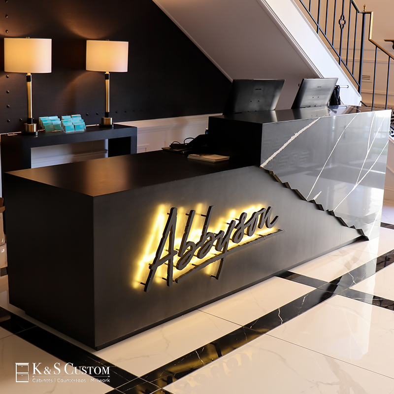 Abbyson Furniture Welcome Desk