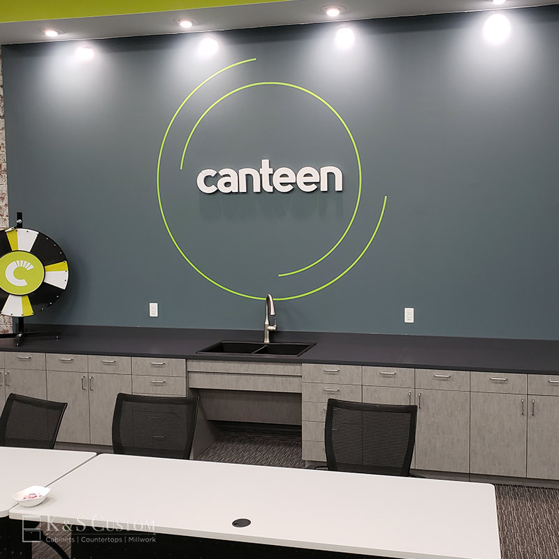 Canteen Vending Custom Cabinets