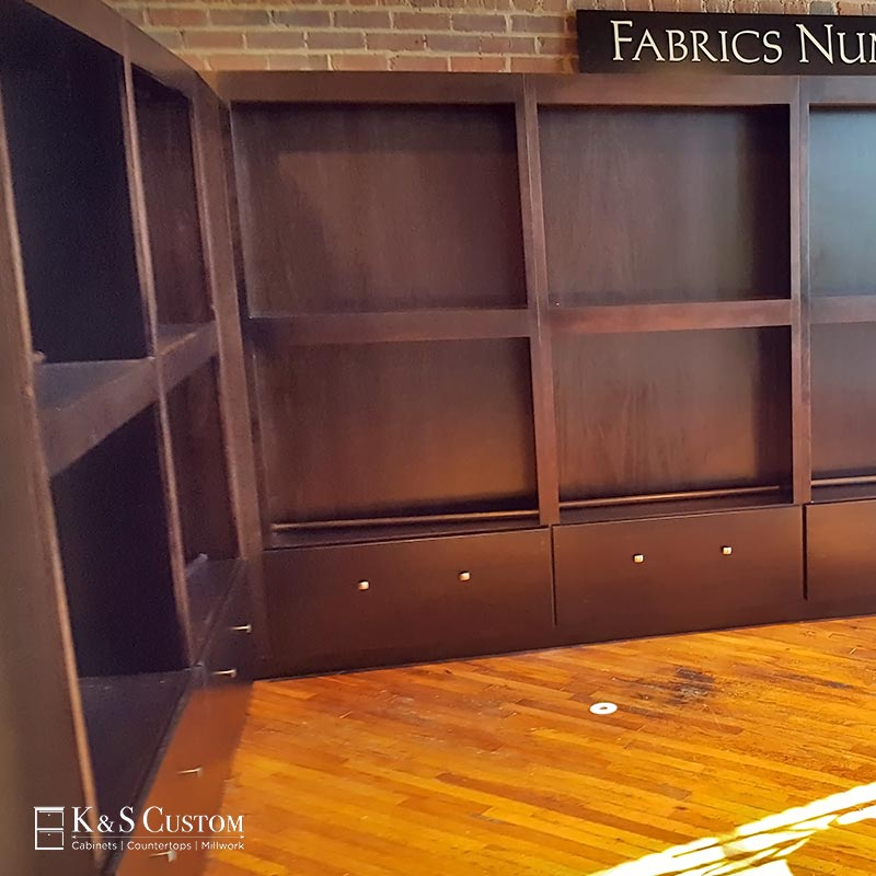 Display Cabinet Project: Hickory Furniture