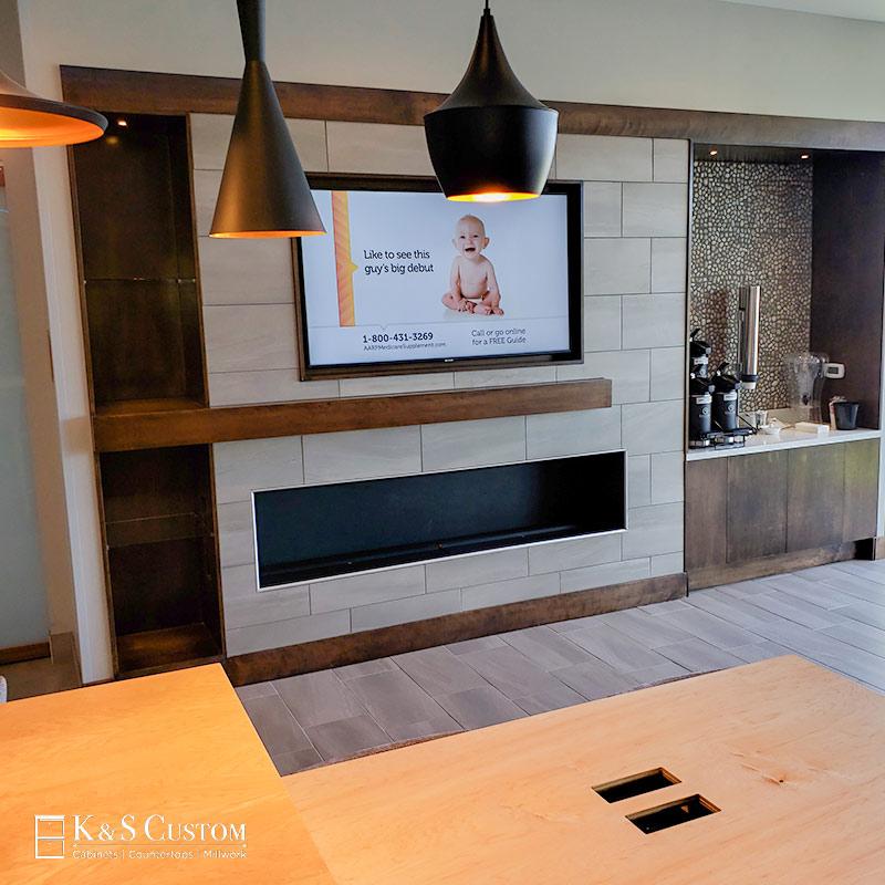 Cabinet Millwork LaQuinta Inns & Suites