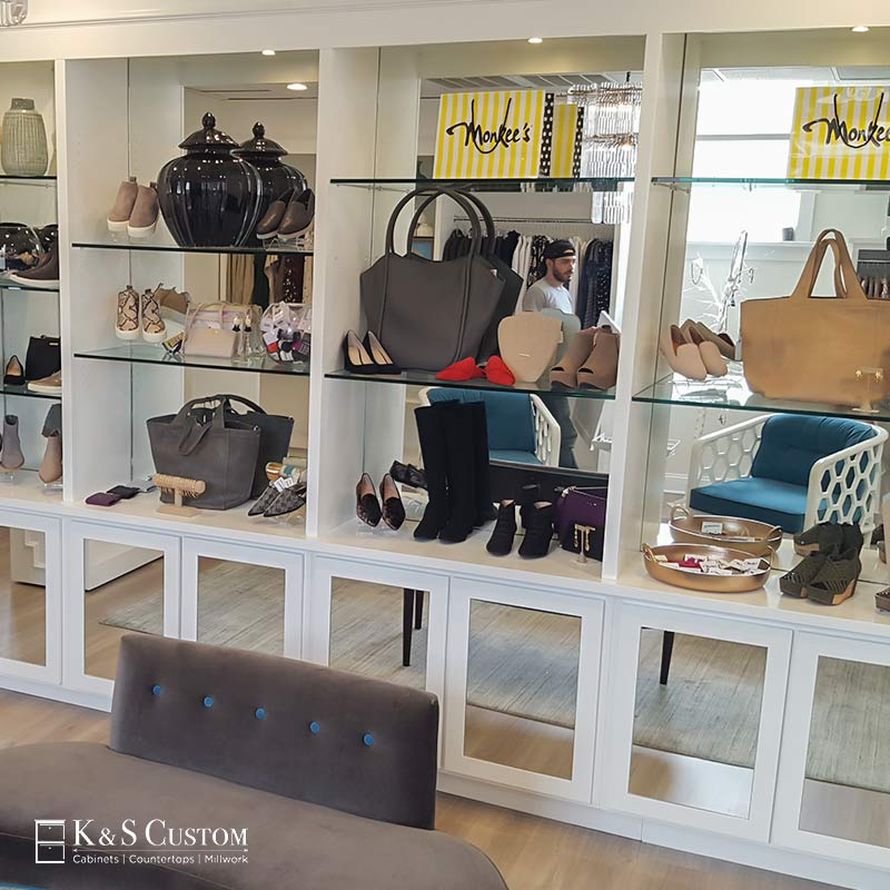 Monkee's Boutique Display Cabinets