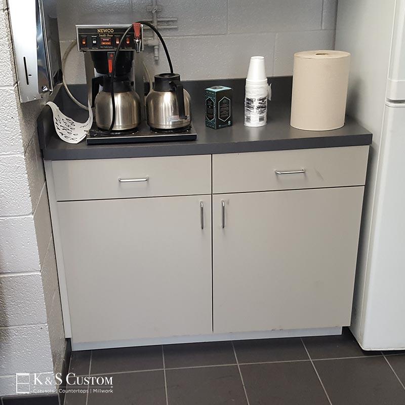 Penske Truck Rental Coffee Bar Cabinets