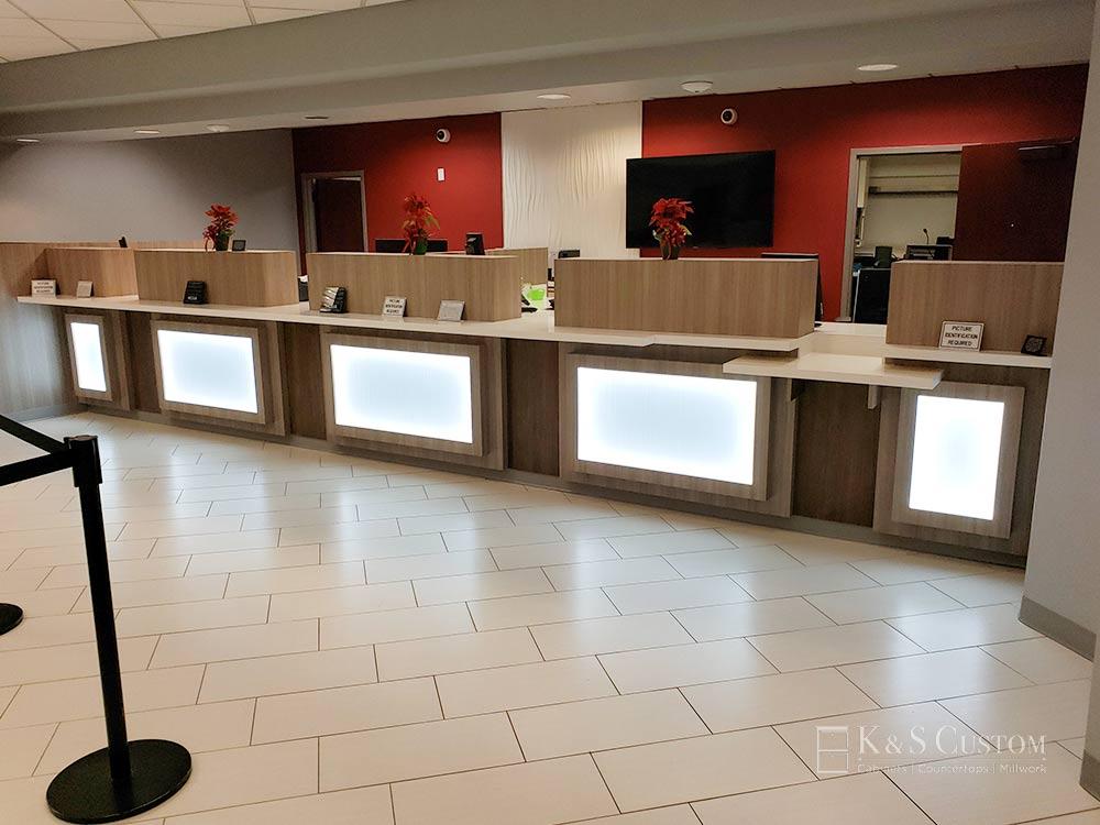 Allegacy Credit Union customer desk