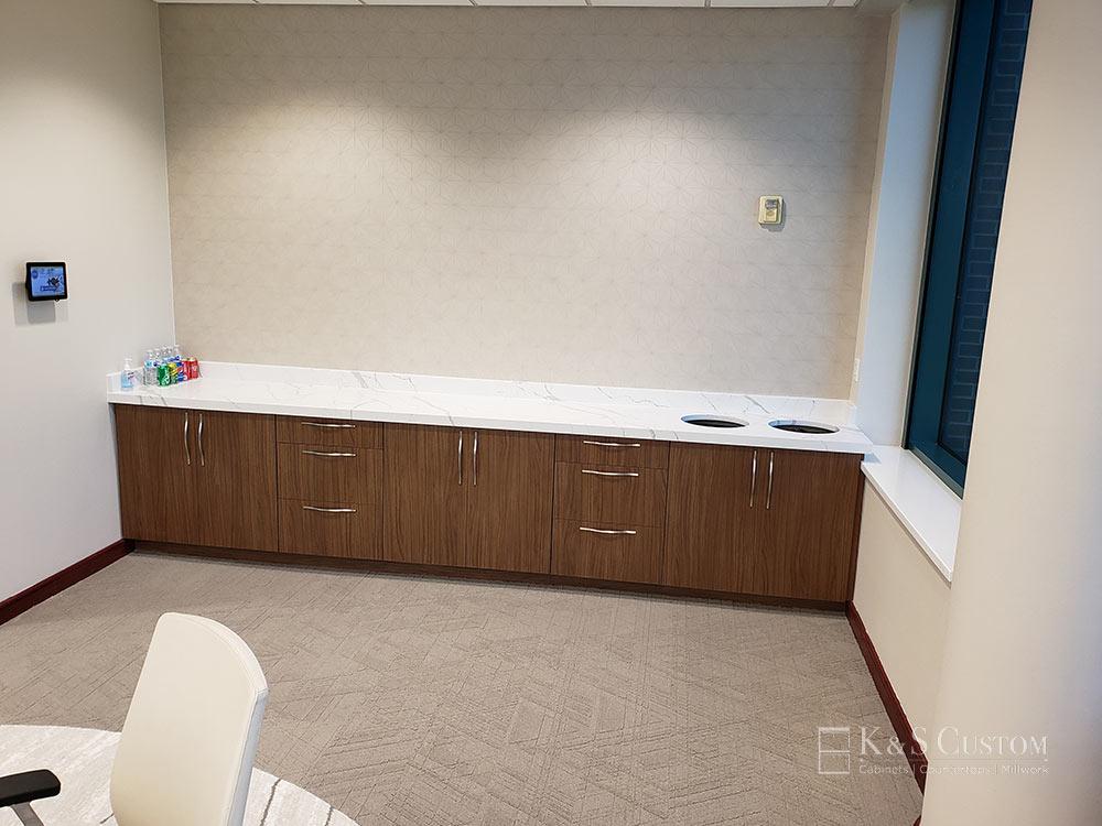 Allegacy Credit Union breakroom