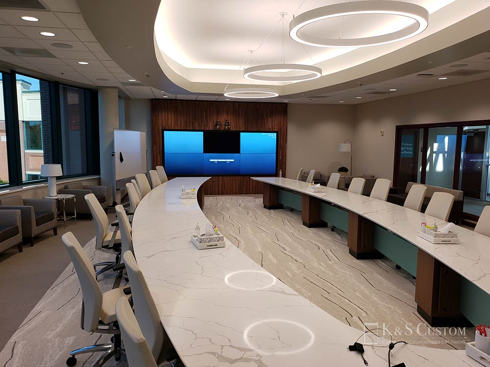 Allegacy Credit Union board room