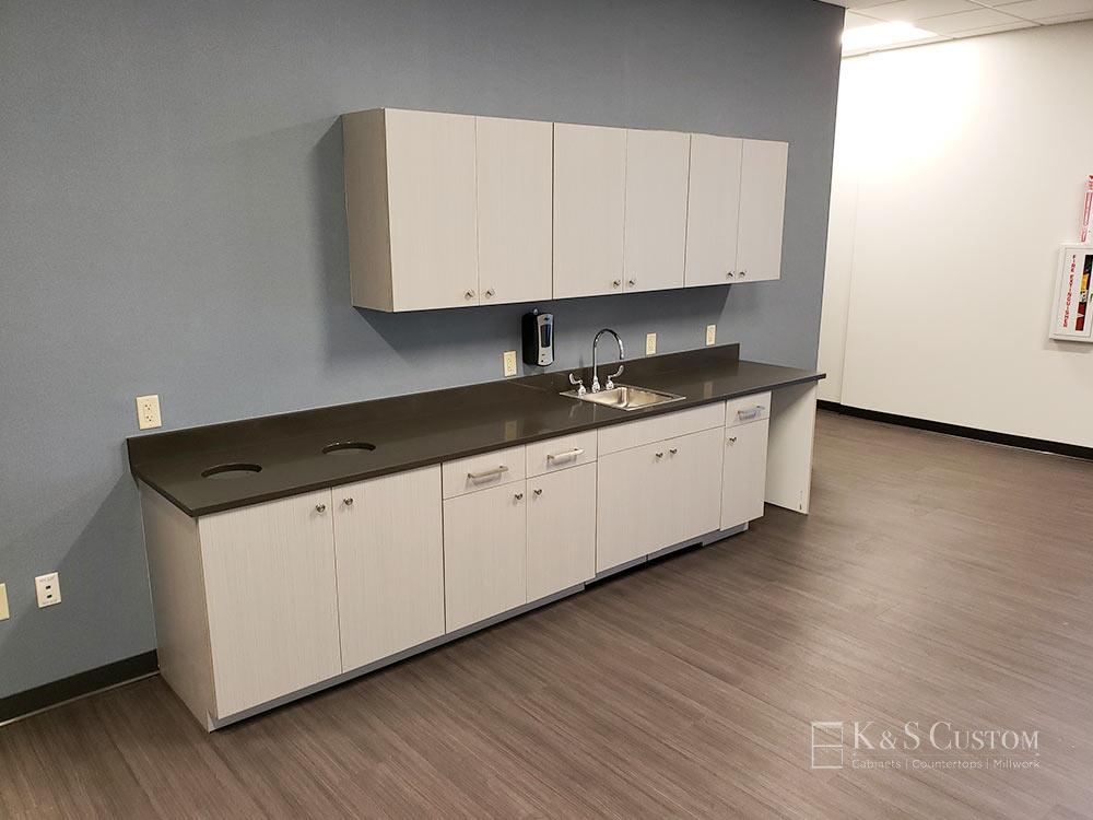 Altec breakroom cabinets