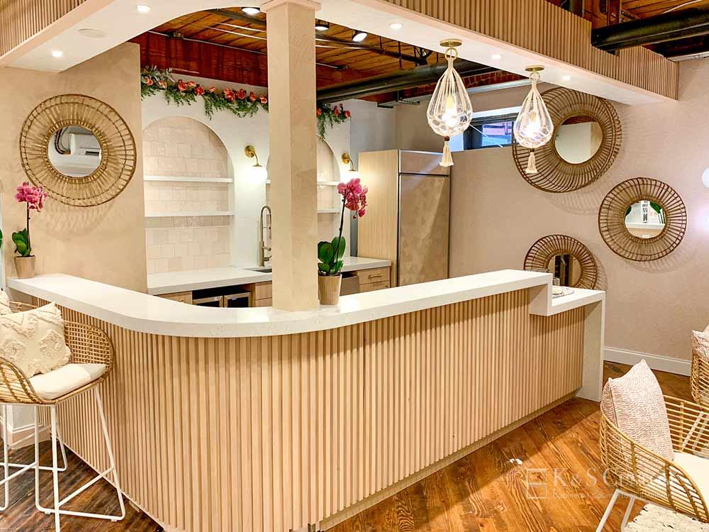 Hudson Valley Kitchenette Bar Area