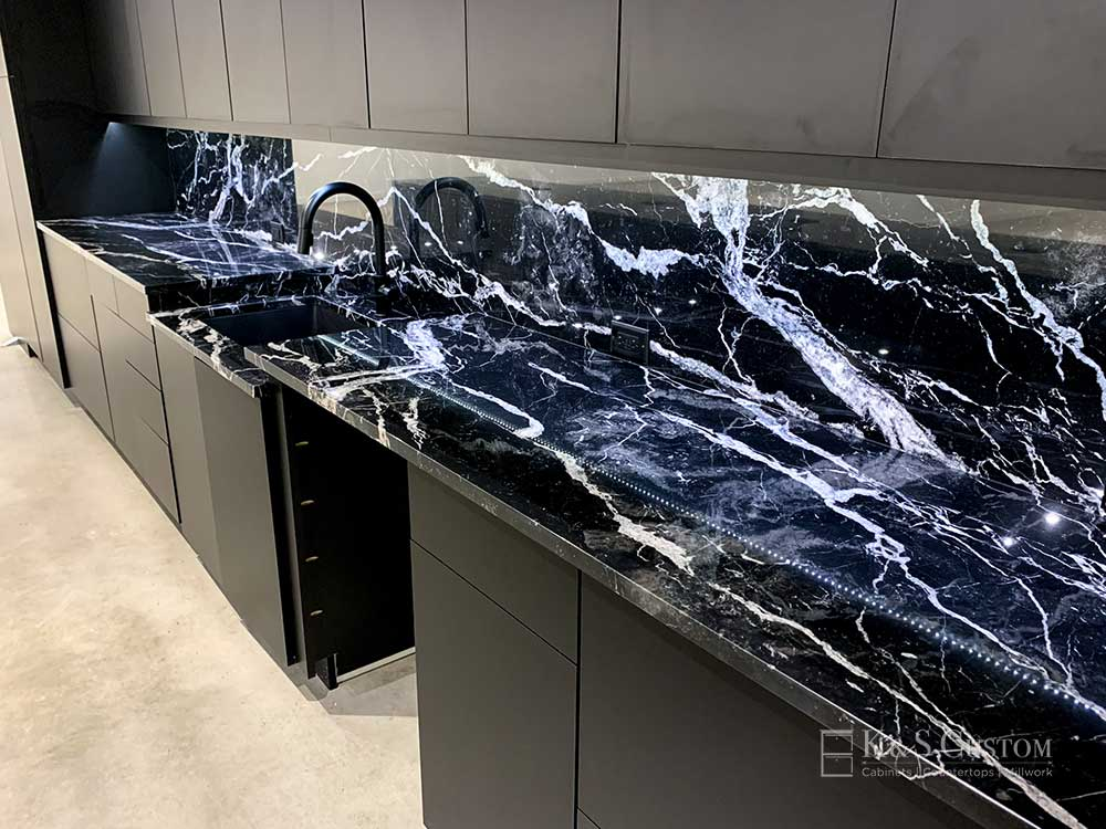 Mobital Furniture marble top display