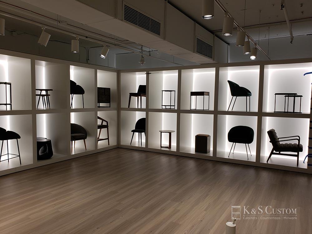 Furniture display case