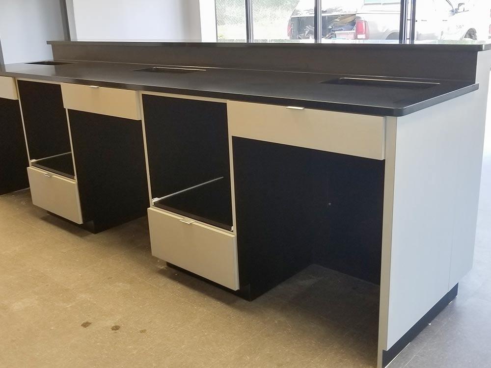Penske Truck Rental Cabinet Install