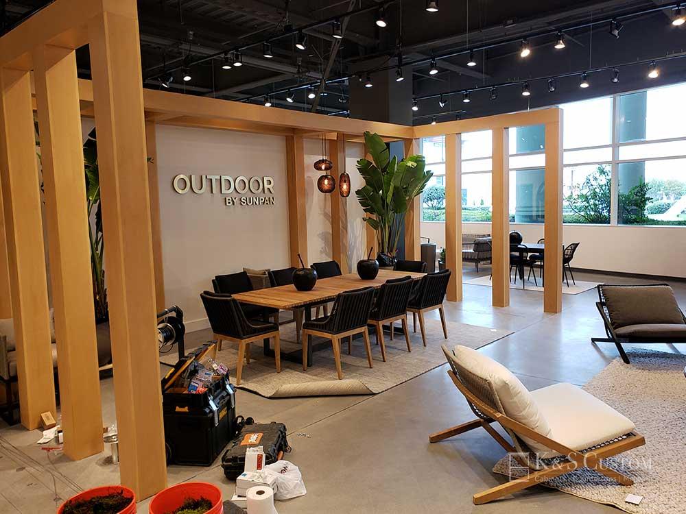 SUNPAN Furniture display