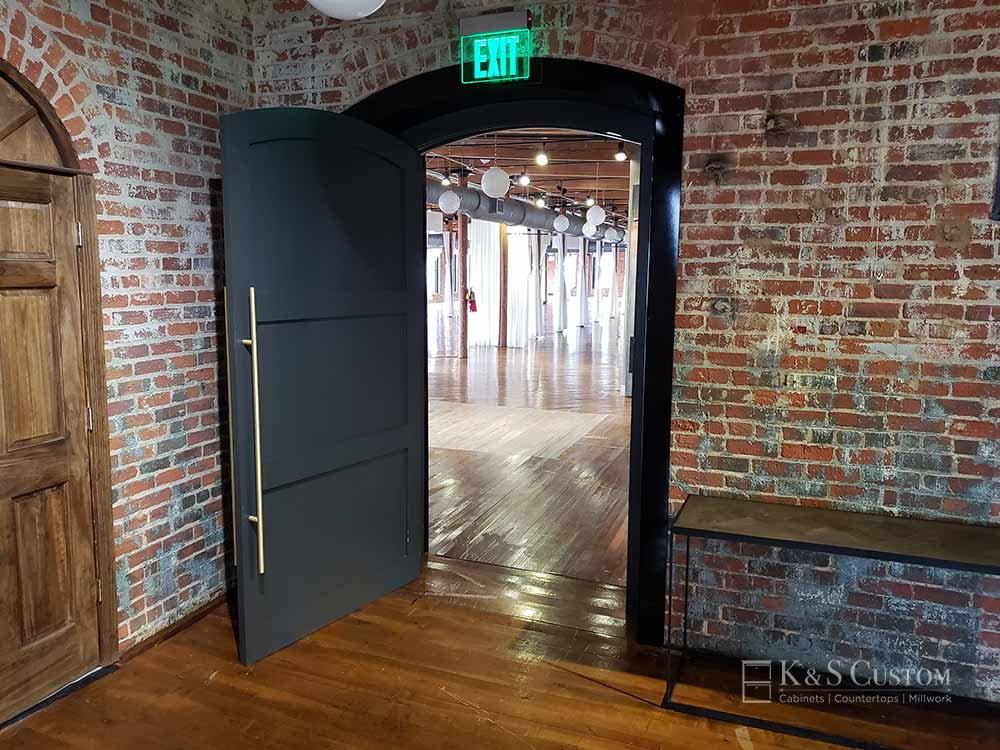 The Loft at the Factory custom door